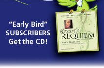 Get Your Early Bird Subscriptions Today!
